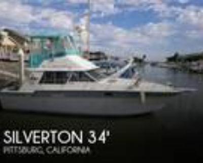 34 foot Silverton 34 Convertible