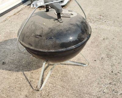 Weber mini charcoal camping grill