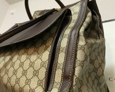 Authentic Large Gucci Travel Bag