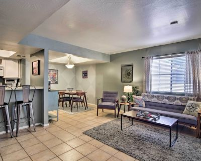 Luxury Condo w/ Furnished Patio - 3Mi to Old Town! - Camelback East