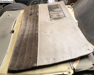 Karmann Ghia drivers side door panel 55-58