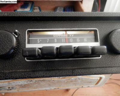 working 1971 saphire XV VW am radio