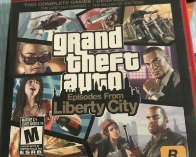 Grand theft auto liberty city for ps3