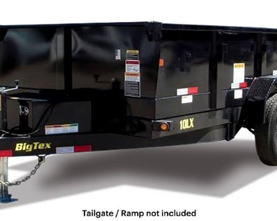 2021 Big Tex Trailers 10LX-10 Dump Trailers Belleville, MI