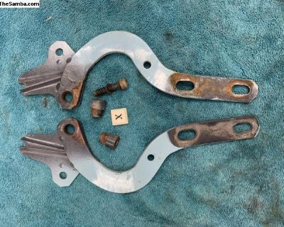 Late type 3 front hood hinges