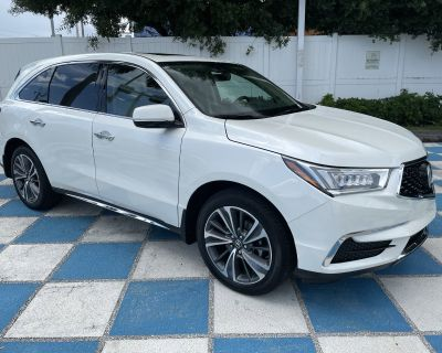 Pre-Owned 2019 Acura MDX w/Technology Pkg AWD SUV
