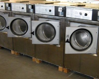 Speed Queen Front Load Washer Triple Load 1PH 220V EX325 Stainless Steel Used