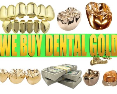WE PAY TOP DOLLAR FOR DENTAL GOLD (SELL DENTAL GOLD HERE!)