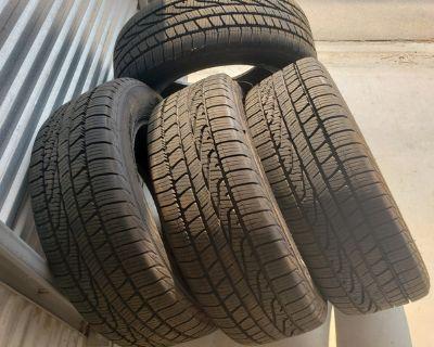 "New 17"" Goodyear Assurance tires"