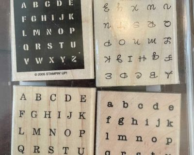 Alphabits Rubber Stamp Collection