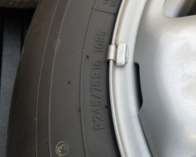 FS Stock Toyota Tacoma Wheels and Tires
