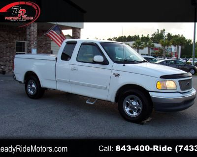 Used 2002 Ford F-150 XL SuperCab Short Bed 2WD