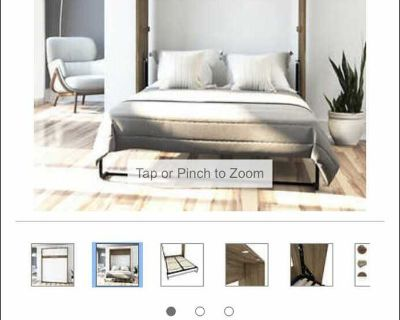 Full/double size Murphy bed