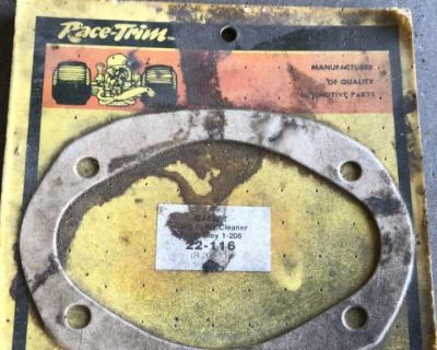 NOS race trim Holley carb air cleaner gasket