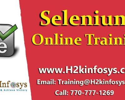 Selenium Online Training In USA