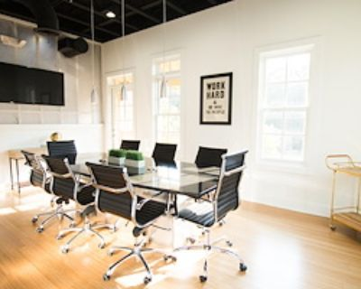 Private Meeting Room for 10 at THRIVE Coworking- Milton