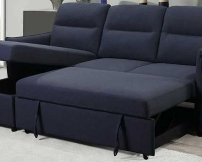 Sectional pull out sofa brand new