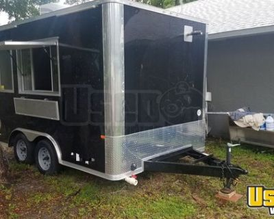 Lightly Used 2018 8' x 12' Kitchen Food Trailer/Mobile Kitchen
