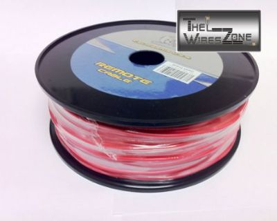 New Bullz Audio Bpr18.400rd 18 Gauge 400' Feet Primary Remote Wire Cable Red