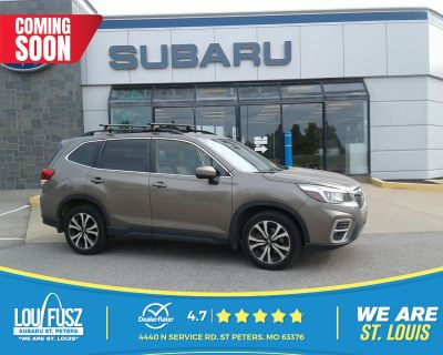 Pre-Owned 2019 Subaru Forester Limited AWD Sport Utility