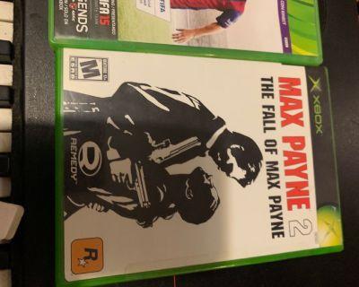 Free maxpayne2 Xbox  game