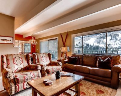 In Heart of Vail Lionshead Village with Mountain View, Hot Tub & Pool | VP410 - Vail