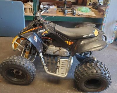 4 Wheeler, 80cc Mini Bike, Lawn Mower, Nice Samsung Washer & Dryer Pair, High End Purses,