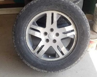 Mitsubishi rims/tires