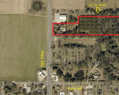 Commercial/Multi family land for sale at Hwy 181 and 64.