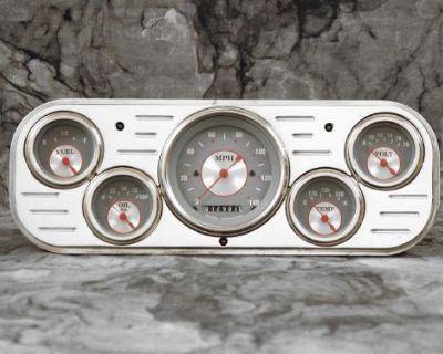 1937-1938 Chevy Car Billet Aluminum Dash Insert Gauge Panel Instrument Cluster