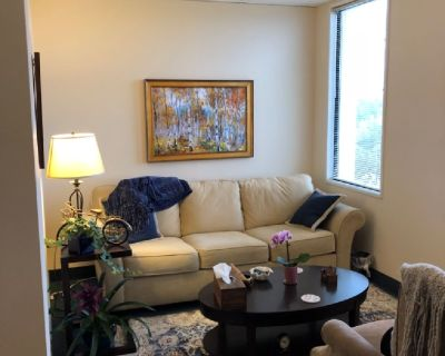 Psychology private practice office available for sublet.