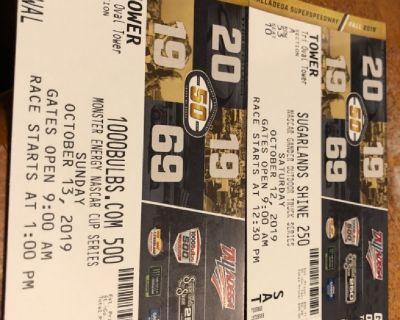 Race tickets