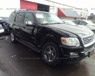 Salvage Black 2006 Ford Explorer