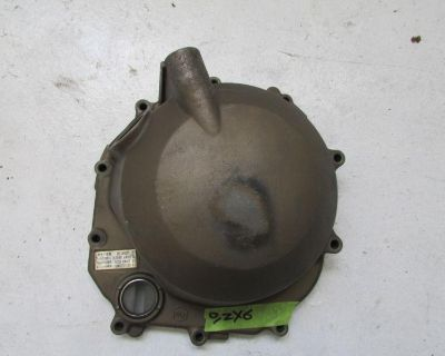 2001 Zx6 Zx-6 Zx 6 Clutch Cover Engine Motor O