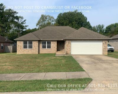 2202 Richland Park Dr., Bryant AR 72022 - Nice and updated 3br 2ba w/fenced back yard