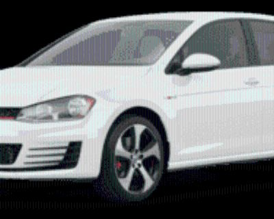 2017 Volkswagen Golf GTI S 4-Door Manual