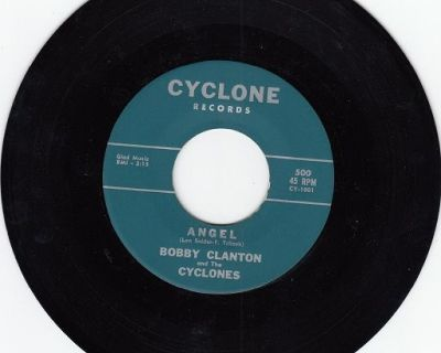 BOBBY CLANTON AND THE CYCLONES ~ Angel*VG+ !