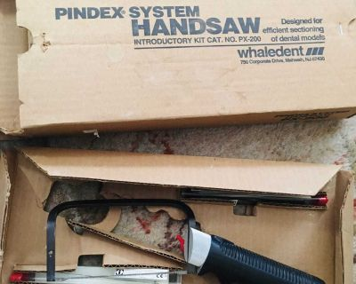 Pindex System Handsaw Complete Kit and 12 Saw Blades