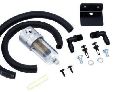 1979-2004 Ford Mustang Oil Separator Kit With Hoses Gt 5.0 Fox Body Cobra Svo