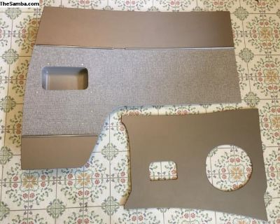 4 piece Upholstered Cab Panels for Microbus
