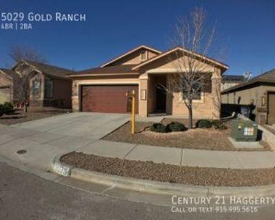 5029 Gold Ranch Ave, El Paso, TX 79934 4 Bedroom House