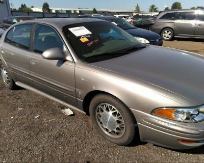 Salvage Gold 2001 Buick Lesabre