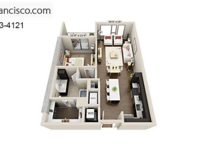 Apartment for Rent in San Francisco, California, Ref# 2267663