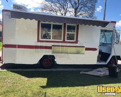 Chevrolet Step Van Kitchen Food Truck with Pro-Fire Suppression