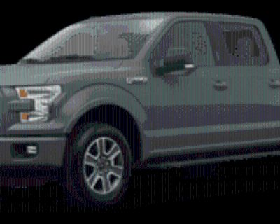 2016 Ford F-150 XLT SuperCrew 5.5' Box 4WD