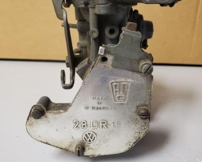 Early Bus Carb Governor And 30 Pict Carb
