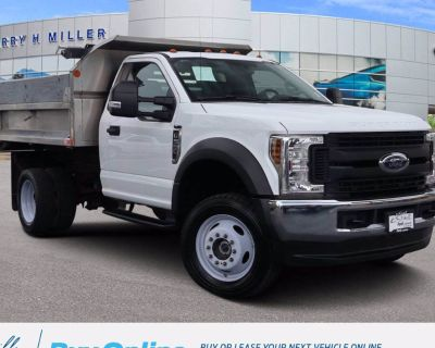2019 Ford Super Duty F-550 Chassis Cab XL