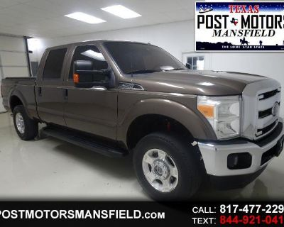 Used 2015 Ford F-250 SD XLT Crew Cab 4WD