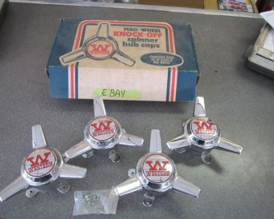 Nos Western Wheel Rim Spinner Kit