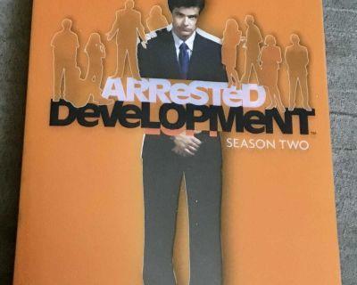 DVD tv series Arrested Development season two